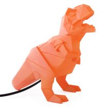 House of Disaster dinosaurus lamp mini oranje