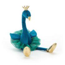 Jellycat knuffel pauw Fancy Peacock