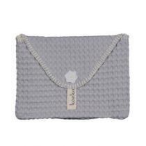 Koeka baby purse Antwerp silver grey