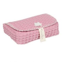 Koeka hoes voor babydoekjes Antwerp blush pink