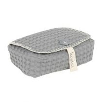 Koeka hoes voor babydoekjes Antwerp steel grey