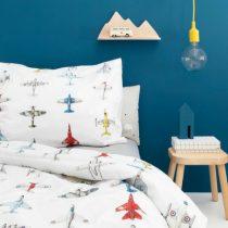 Studio Ditte dekbedovertrek Vliegtuigjes eenpersoonsbed