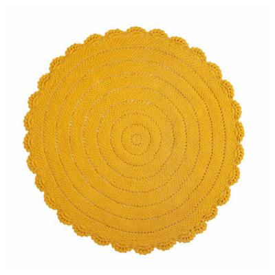 Kidsdepot vloerkleed roundy geel