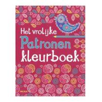 Deltas Het vrolijke patronen kleurboek