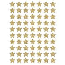 Lilipinso muurstickers sterretjes glitter goud