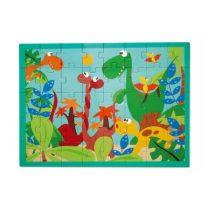 Scratch Puzzel Dinowereld 40 stukjes