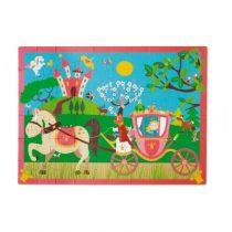 Scratch Puzzel Prinsessenkoets 60 stukjes