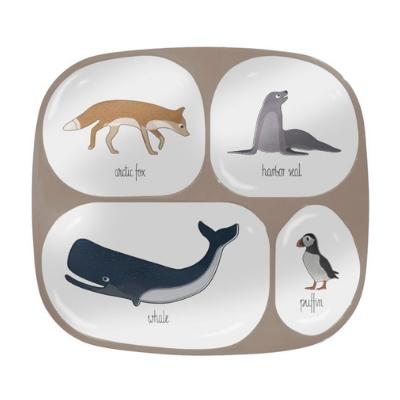 Sebra vakjesbord arctic animals