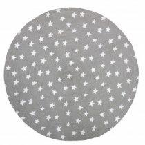 Bloomingville vloerkleed jute grijs met sterren