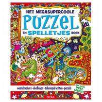 Deltas Het megacoole puzzelen spelletjesboek