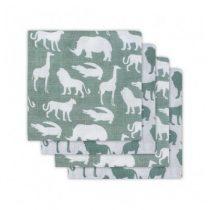Jollein hydrofiele doeken Safari forest green 4 stuks