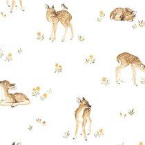 Lilipinso Oh Deer sample behang Fawns hertjes