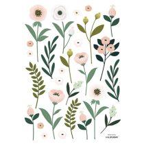 Lilipinso Wonderland muursticker A3 flowers leaves