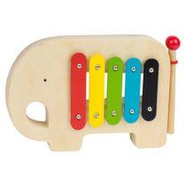 Petit Collage xylofoon olifant