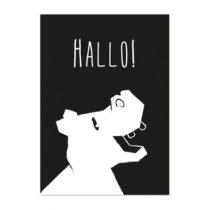 Studio Circus poster A4 Nijlpaard hallo