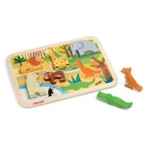Janod Chunky puzzel dierentuin