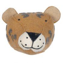 Kidsdepot dierenhoofd luipaard