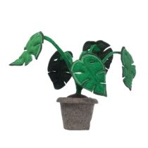 kidsdepot vilten decoratie plant Monstera
