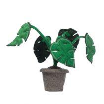 kidsdepot vilten decoratie plant Monstera