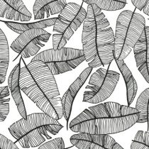 Lilipinso behang blaadjes tropical serengeti