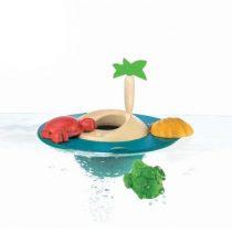 Plantoys houten badspeelgoed Floating Island