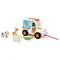 Scratch sorteerwagen safari