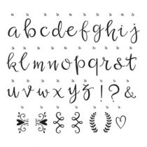 A Little Lovely Company lightboxscript letters