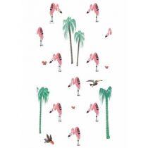 KEK Amsterdam behang Fiep Westendorp flamingo