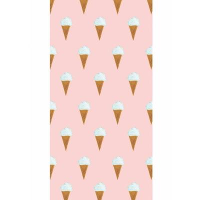 KEK Amsterdam behang Fiep Westendorp ijsjes roze