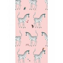 KEK Amsterdam behang Fiep Westendorp zebra roze