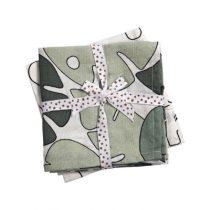 Done by Deer hydrofiele doeken Tiny Tropics 2 stuks