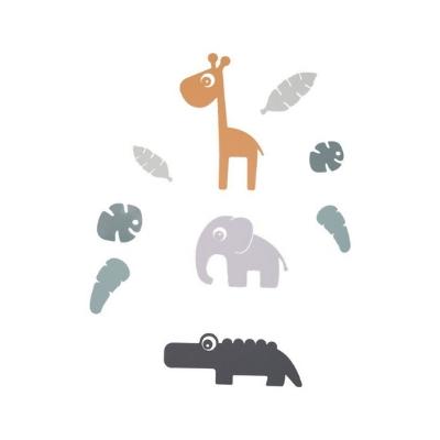 Done by Deer muurstickers Tiny Tropics