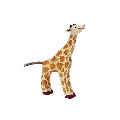 Holztiger Wildernis giraf etend klein 80157