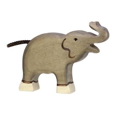 Holztiger Wildernis olifant slurf omhoog klein 80150