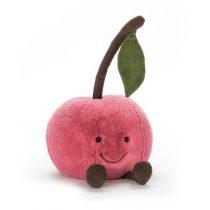 Jellycat knuffel Amuseable Cherry kers