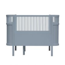 Sebra Kili ledikant en juniorbed Forest Lake Blue incl. matras