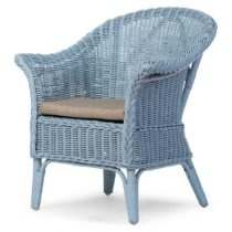 Childhome stoel Wicker kind cloud blue