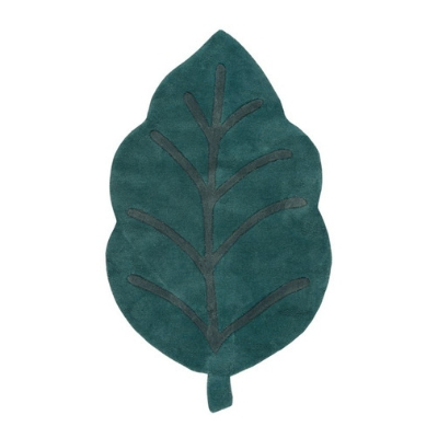 Lilipinso vloerkleed blad leaf groen