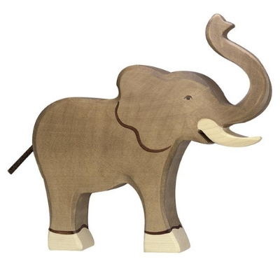 Holztiger Wildernis olifant slurf omhoog 80148