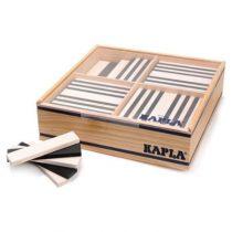 Kapla 100 plankjes zwart en wit in kist