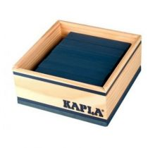 Kapla 40 plankjes donkerblauw in kistje