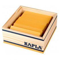 Kapla 40 plankjes geel in kistje