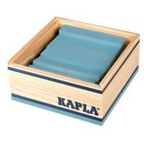 Kapla 40 plankjes lichtblauw in kistje