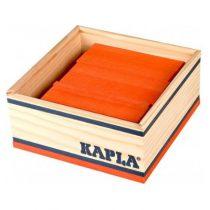 Kapla 40 plankjes oranje in kistje