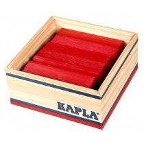 Kapla 40 plankjes rood in kistje
