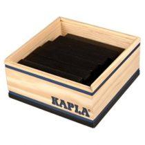 Kapla 40 plankjes zwart in kistje