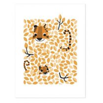 Lilipinso Hide and Seek poster Tiger geel