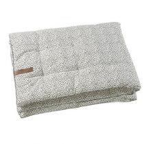 Mies & Co boxkleed Cozy Dots offwhite