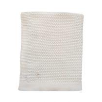 Mies & Co deken ledikant soft knitted offwhite