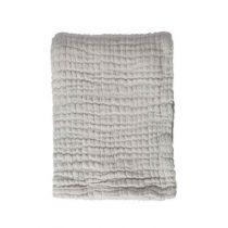 Mies & Co deken ledikant soft mousseline gentle grey